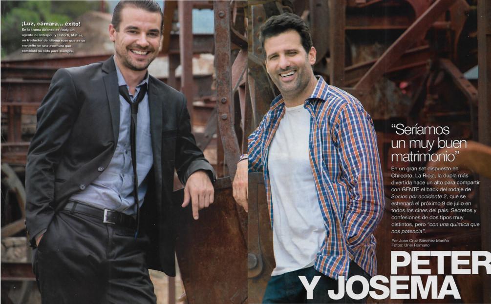 Matrimonio Por Accidente : Peter y josema u201cseríamos un muy buen matrimoniou201d entrevistas